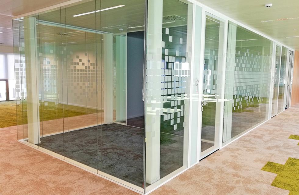 European Parliament building's training rooms