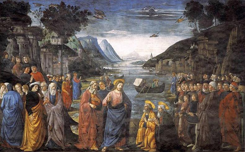 La vida de Cristo interpretada para las series de televisión en Estados Unidos