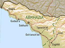 Ferrocarriles de Abjasia