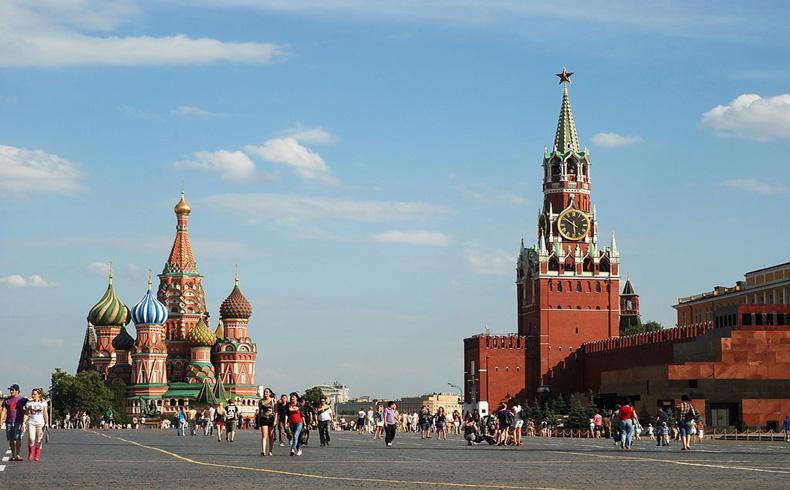 El PBI de Rusia se contrae por primera vez desde el 2009