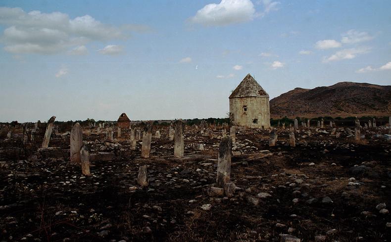 Agdam, Azerbaiyán después de la ocupación armenia