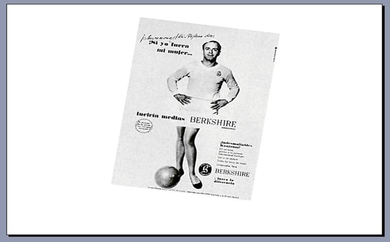 El gran Di Stéfano también fue pionero de la publicidad ramploncilla