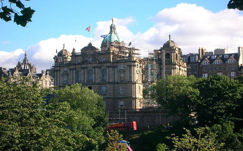Centro de operaciones del Bank of Scotland