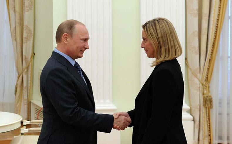 Mogherini insta a Rusia a que evite involucrar a los Balcanes en la disputa sobre Ucrania