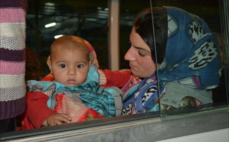 De Kobani al norte de Irak: el viaje agotador de una familia siria