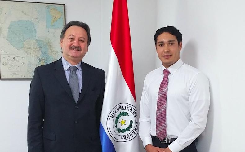 Raúl Irineo Silvero Silvagni – Embajador de Paraguay en Seúl