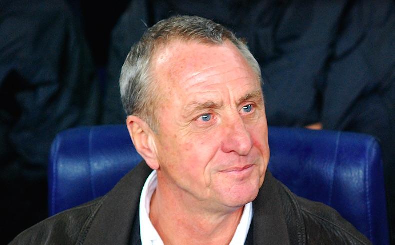 """El mítico Johan Cruyff: """"El fútbol me lo ha dado todo en la vida, en cambio fumar casi me lo quita"""""""
