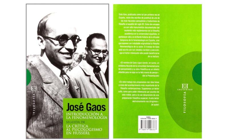 Gaos y la filosofía