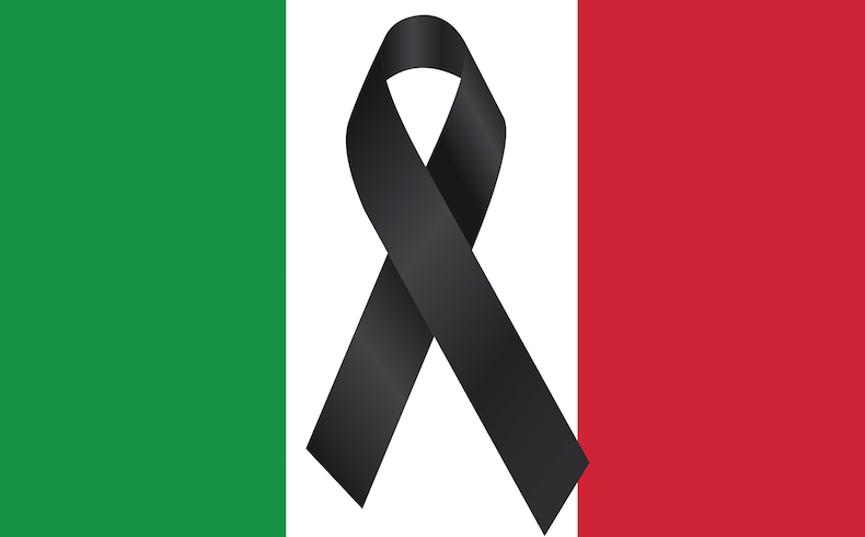 El terremoto de Italia