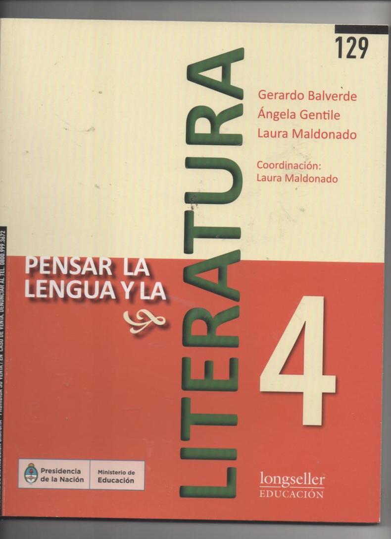"""""""Pensar la lengua y la literatura"""""""