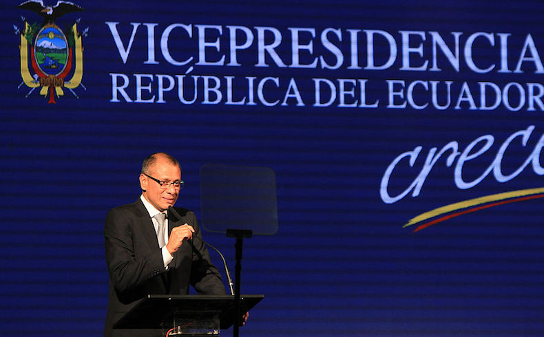 Jorge Glas, uno de tres vicepresidentes latinoamericanos que cayeron en desgracia