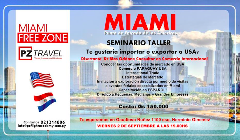 Como iniciar negocios exitosos entre Paraguay y Miami