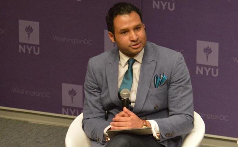 Geovanny Vicente Romero nominado a los Napolitan Victory Awards en Washington, DC.