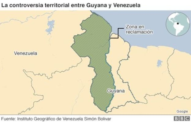 Guyana y Venezuela