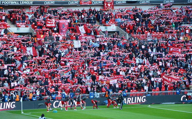 Champions: los hinchas ingleses, los más apasionados de Europa