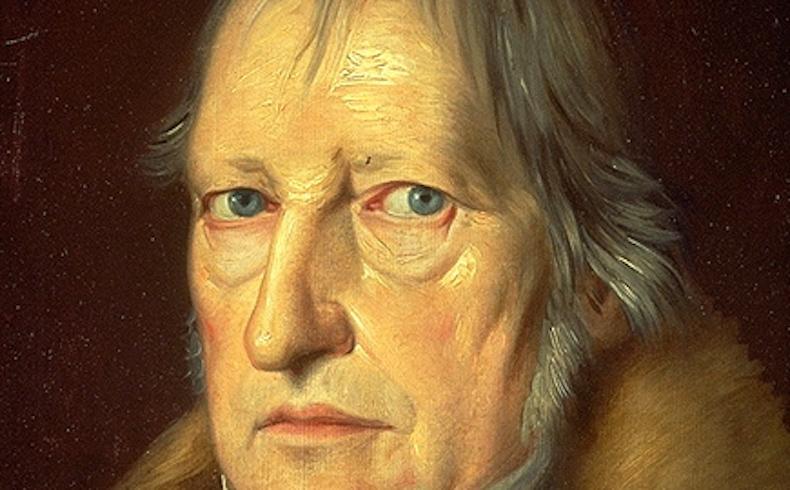 Hegel y los escritores
