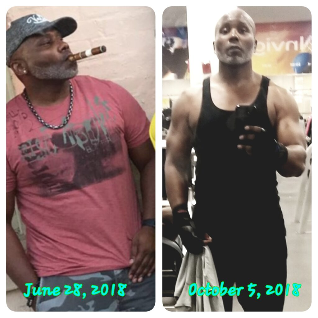 Ivan Before and After - Real Wellness Corp - Health and Nutrition