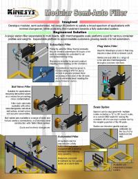 Semi-Automatic Filler