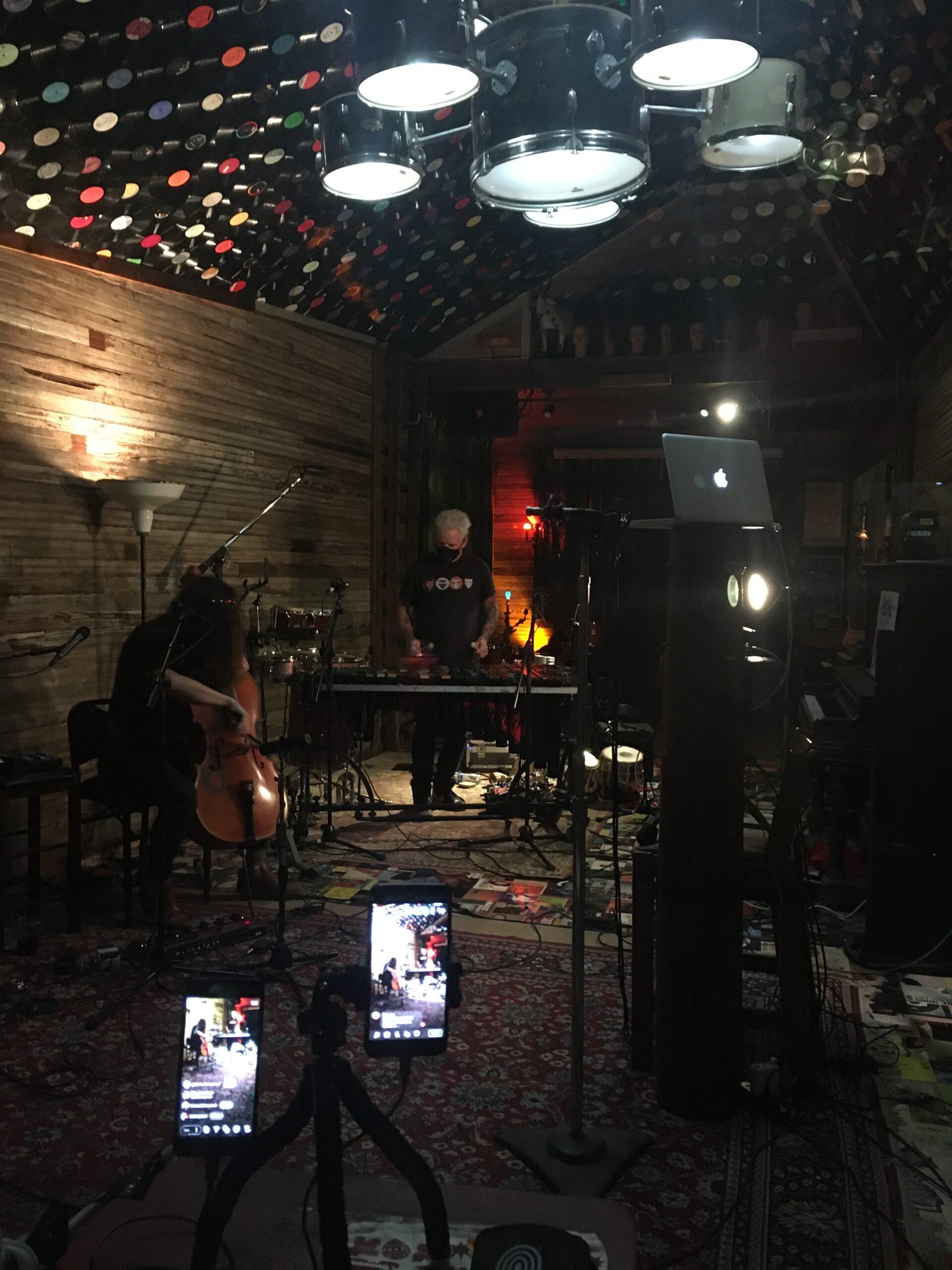Helen Gillet / Mike Dillon livestream show & recording