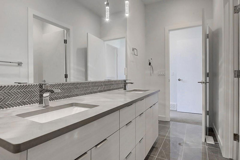 beautiful bathroom design by red tree projects calgary