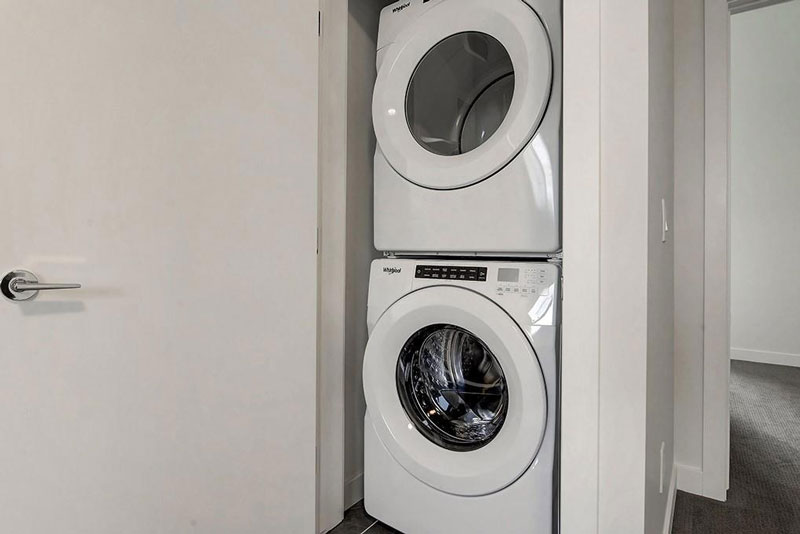 washer and dryer for home renovation