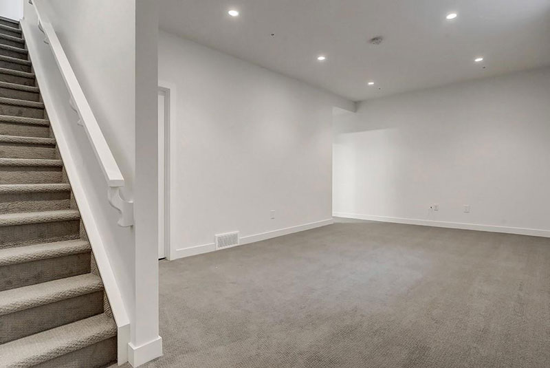 home and townhome basement renovations by Red Tree Projects