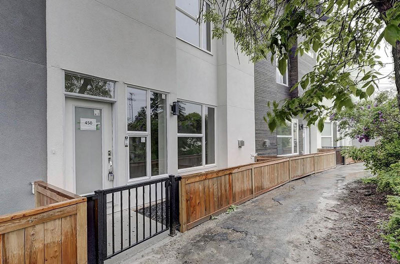 Newly renovated townhome unit in Calgary Alberta