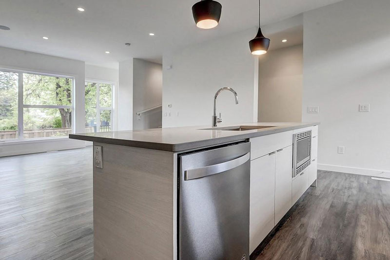 Modern kitchen renovation by red tree projects
