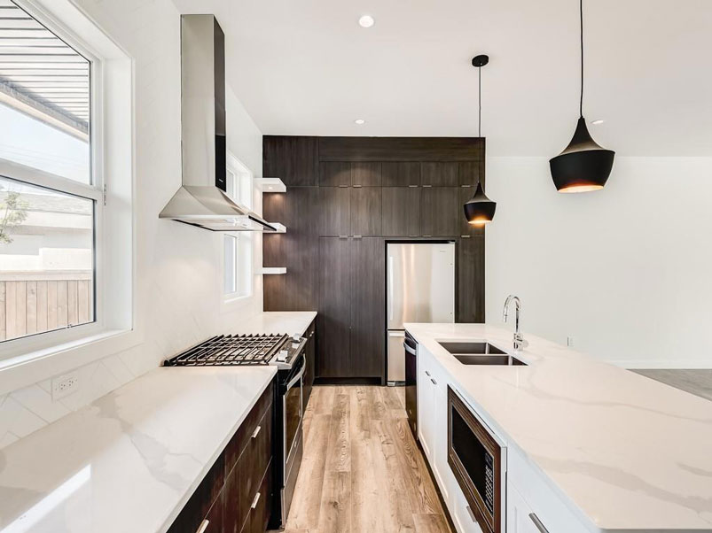 kitchen renovation by calgary home builders red tree projects