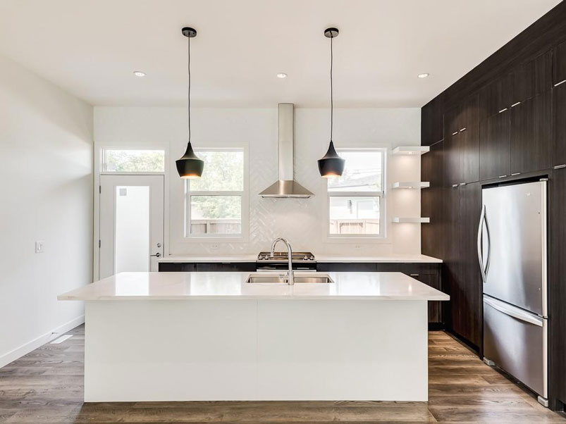 modern kitchen design by red tree projects