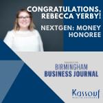 Rebecca Yerby named NextGen: Money Honoree