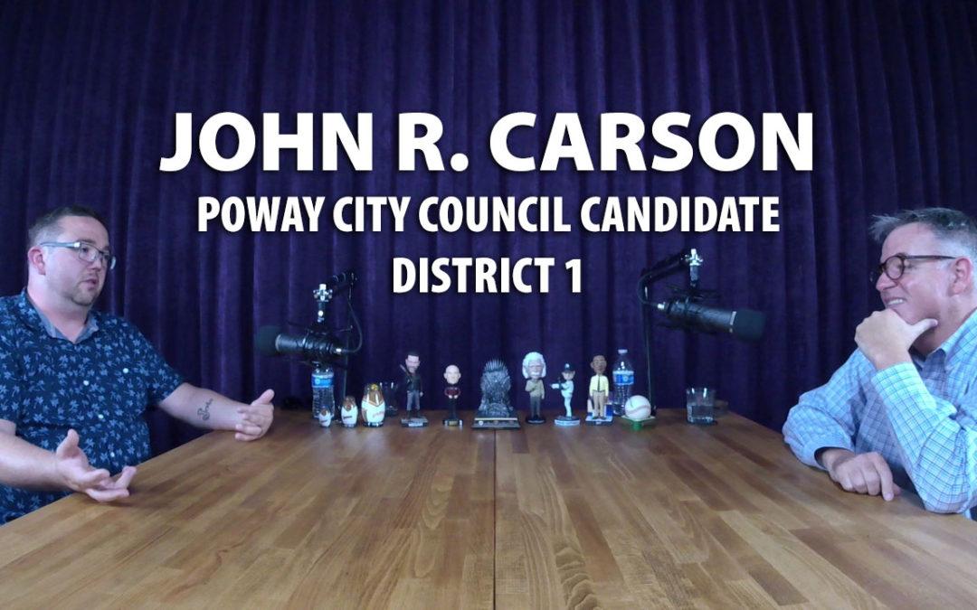 John Carson, Poway Candidate JRP0013