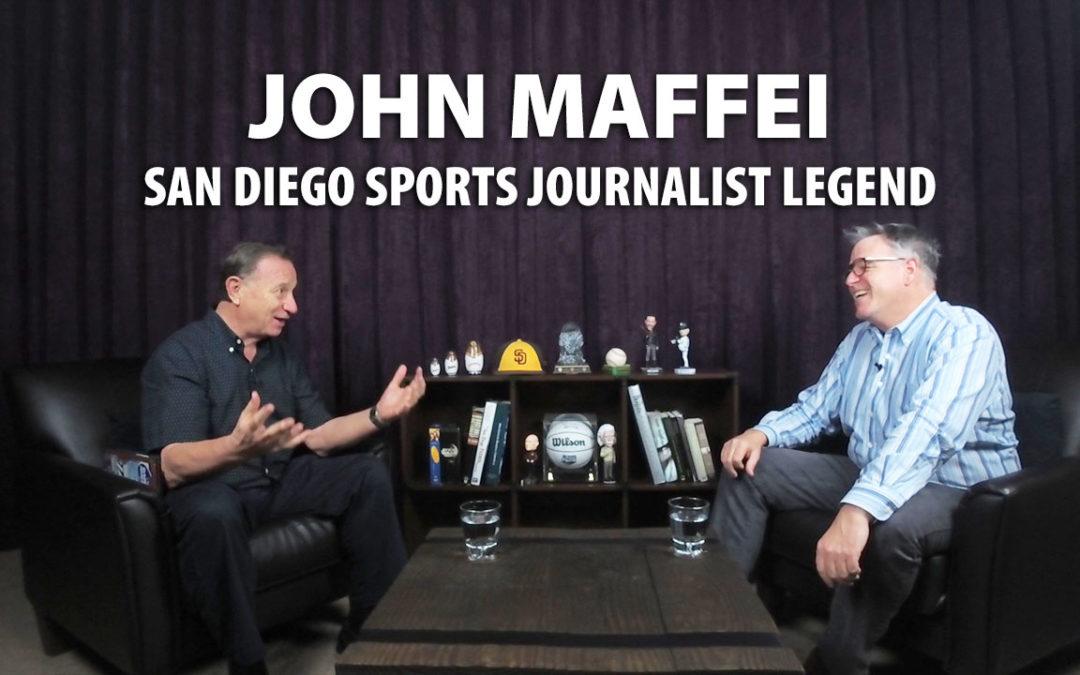 John Maffei is a sports journalist legend for the San Diego Union Tribune.