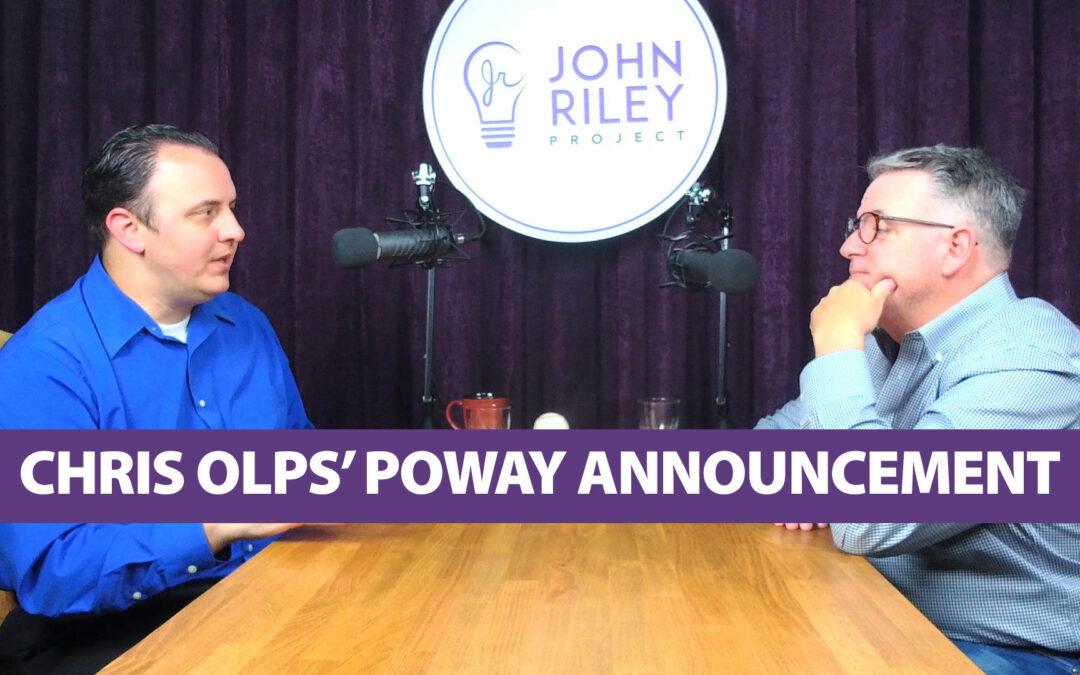 Chris Olps' Poway Announcement, JRP0050