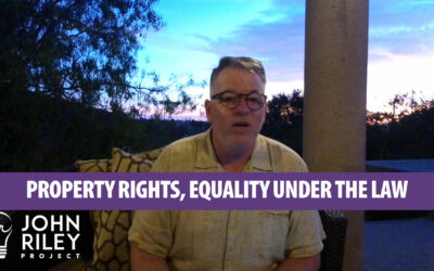 Property Rights and Equality, JRP0062