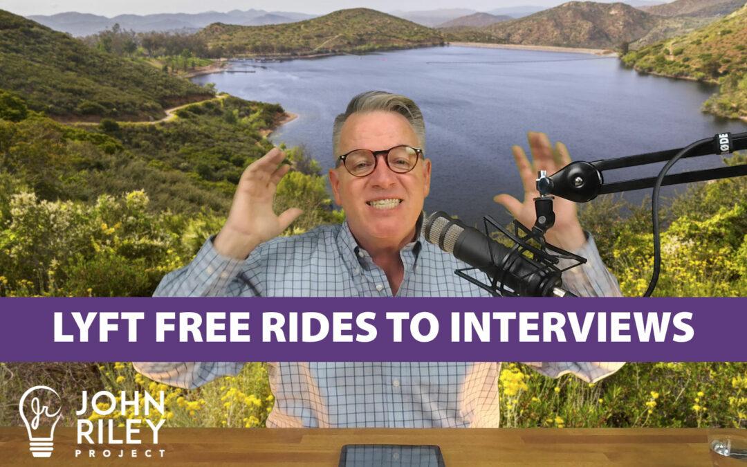 Lyft Free Rides to Interviews, JRP0088