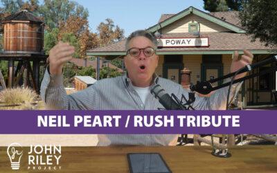 Neil Peart Rush Tribute, JRP0104