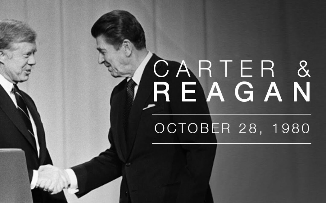 Ronald Reagan, Jimmy Carter, Are you better off than you were 4 years ago