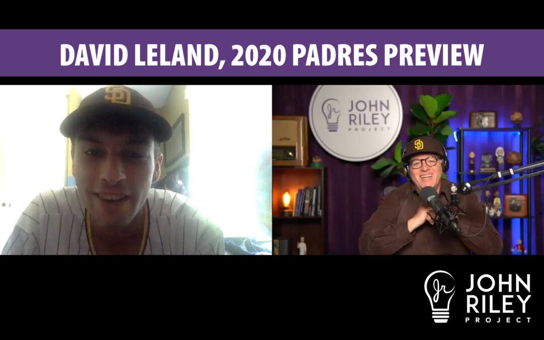 David Leland, 2020 Padres, John Riley Project, JRP0145