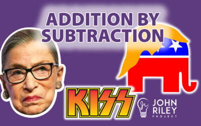 RBG and Addition by Subtraction JRP0165