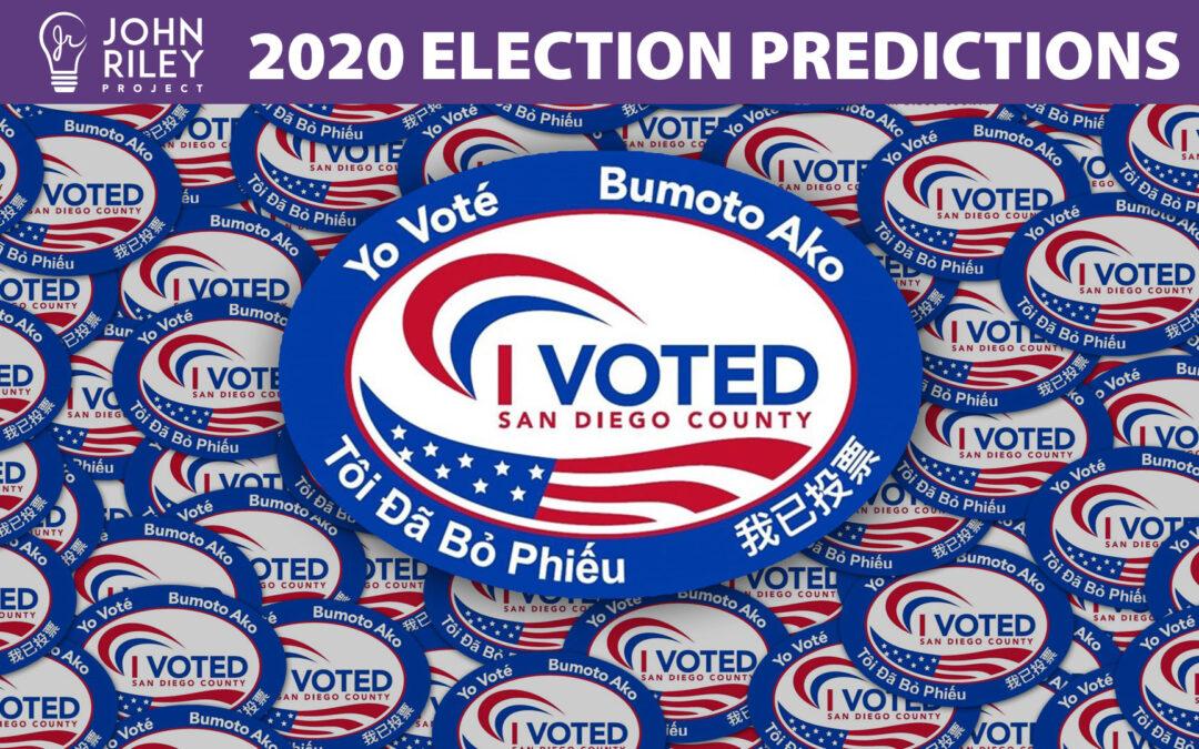 2020 Election Predictions, JRP0183