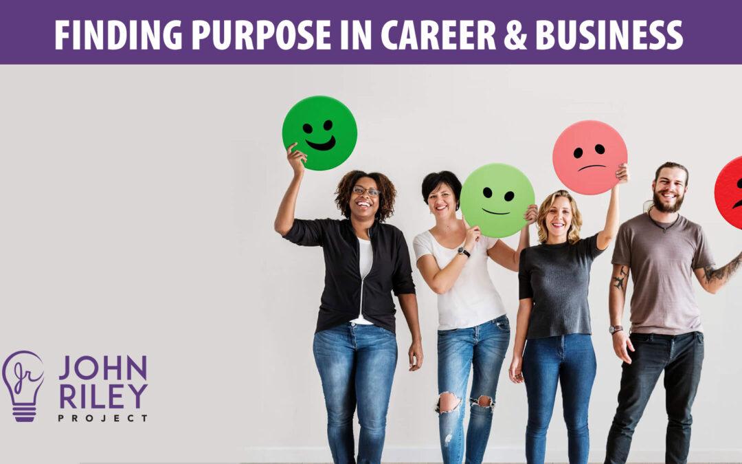 Finding Purpose in Career, JRP0188