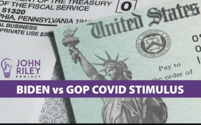 Biden vs GOP COVID Stimulus, JRP1097