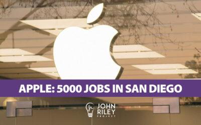 Apple and 5000 San Diego Jobs, JRP0228