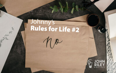 EVs and Johnny's Rules for Life #2, JRP0238