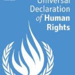Universal Declaration of Human Rights logo long
