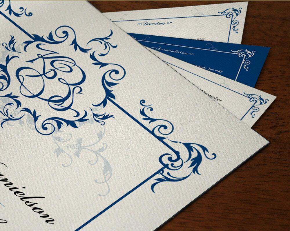 wedding hand lettered logo