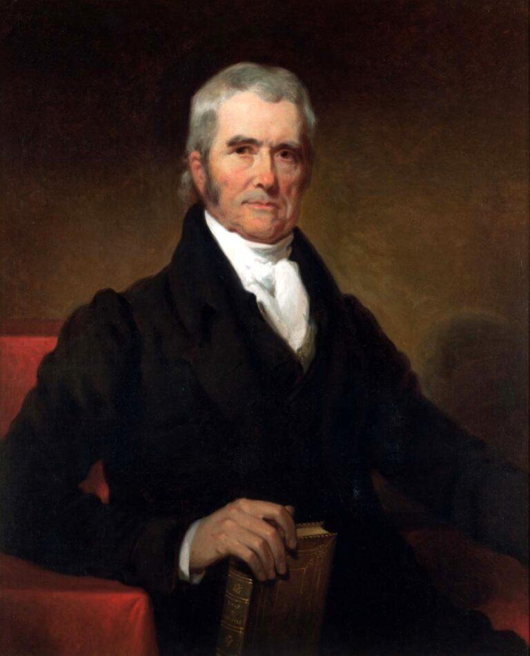 John Marshall by Henry Inman 1832