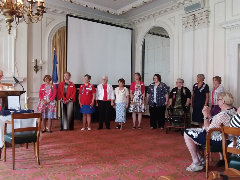 2019 Flag Day Luncheon John Marshall Chapter NSDAR Officer Installation
