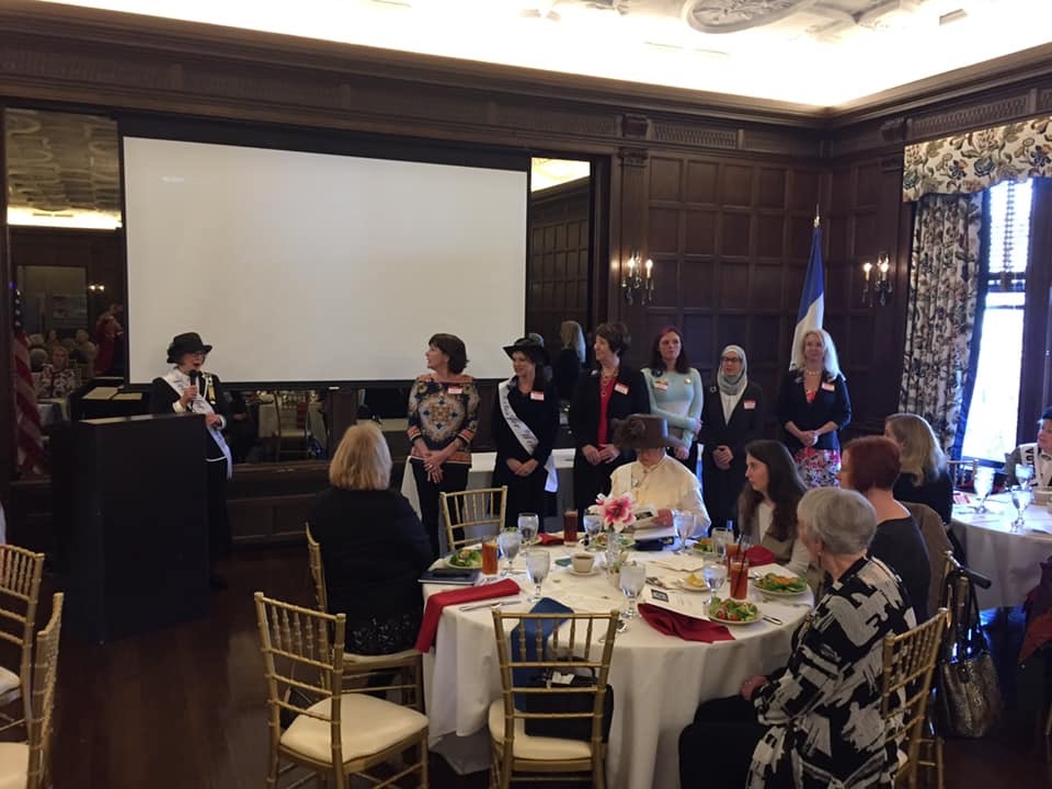 2020 Birthday Luncheon - Installation of New Members